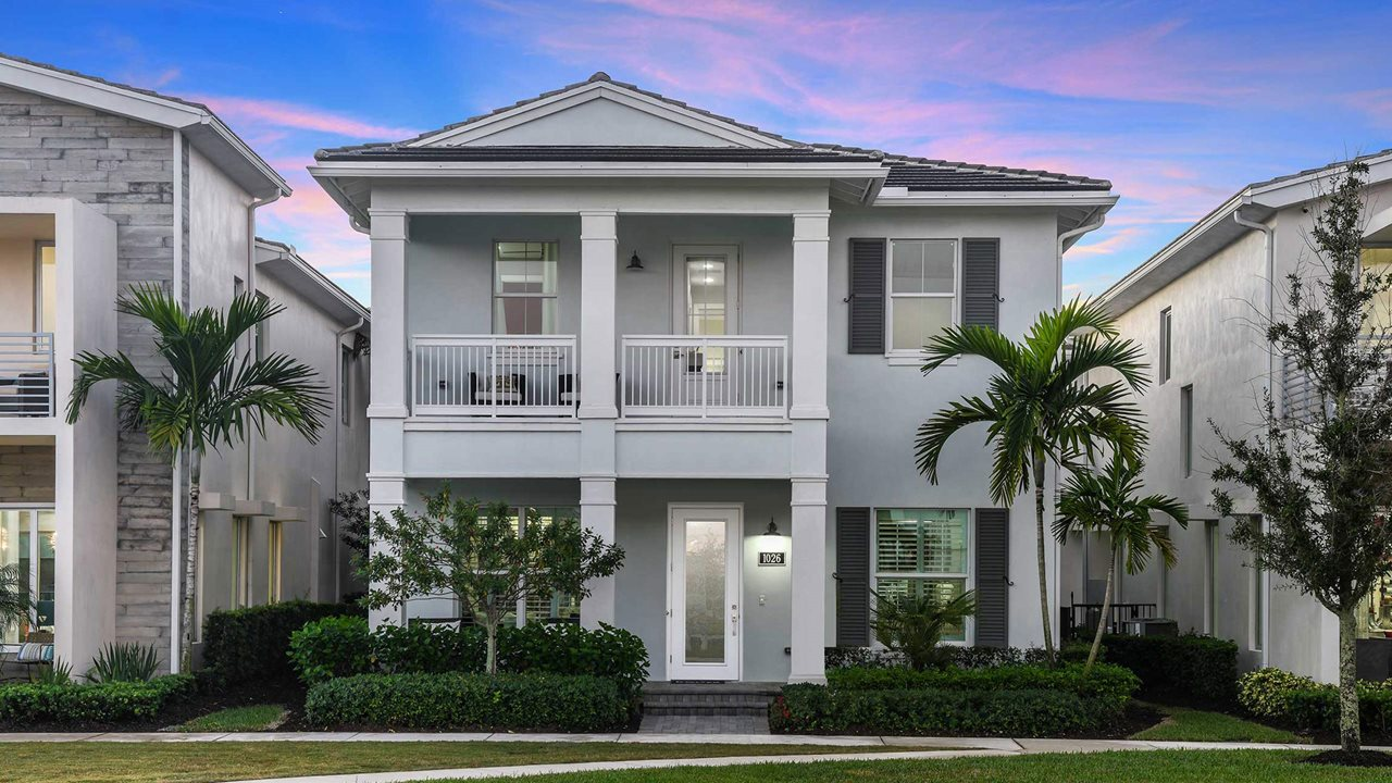 Alton Lancaster Park D New Home In Palm Beach Gardens By Kolter Homes