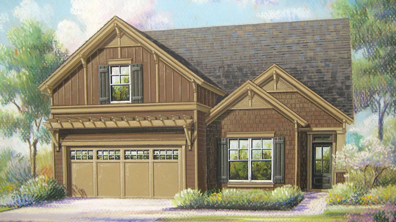 Cresswind Lake Lanier Dogwood | New Home in Gainesville by Kolter Homes
