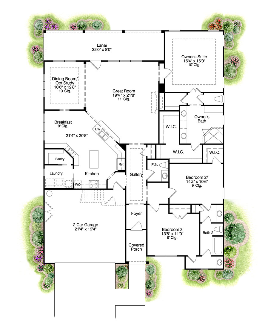active adult community floor plan