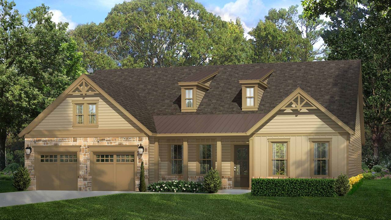 Cresswind Peachtree City Spruce | New Home near Atlanta by Kolter Homes