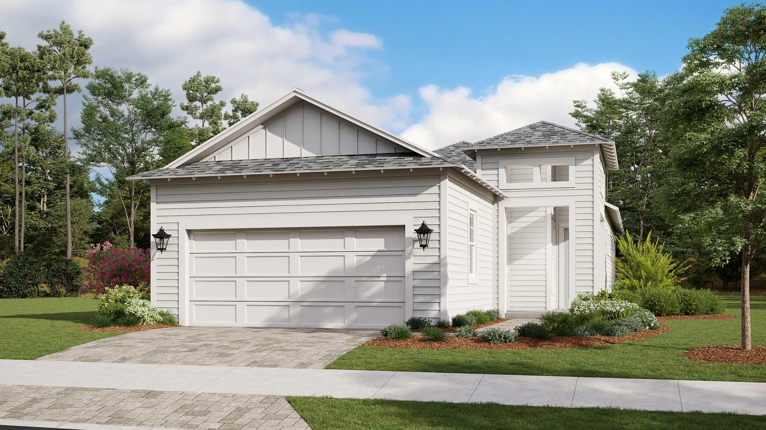 Captiva Main Exterior in new home community SweetBay
